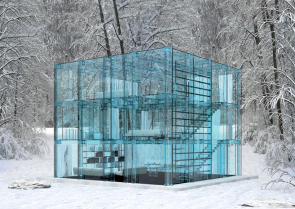 11 Asombrosas Casas de Cristal