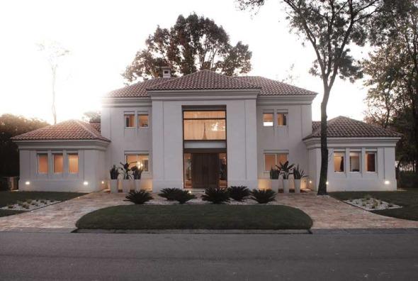 Villa italiana en las afuera de Buenos Aires