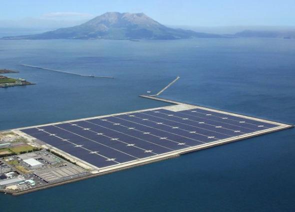 Energía renovable después de los desastres naturales.