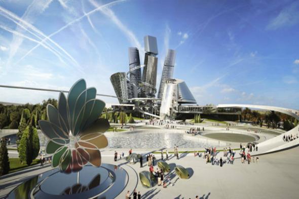 Surrealistas diseños urbanos