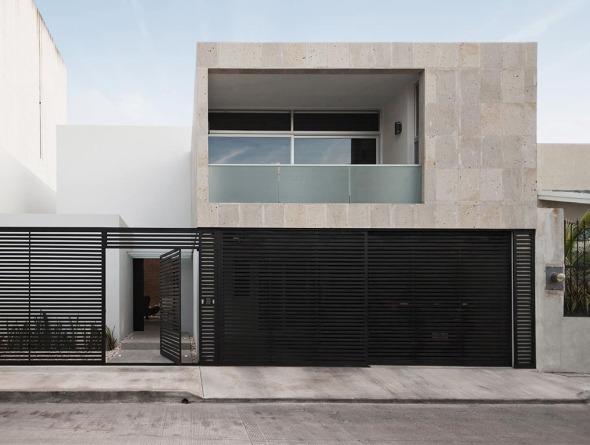 Una casa para mirar hacia el techo