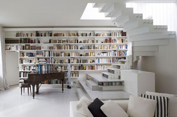 ¿Quién no quiere un loft como este?