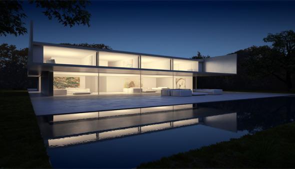Casa de Aluminio
