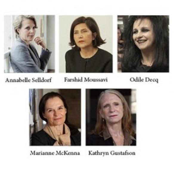 5 mujeres cambian el rostro de la arquitectura