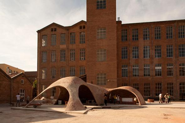Estructura Abovedada para el Festival Ladrillotopia