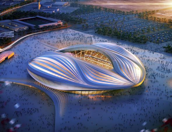 El legado de Zaha Hadid para el Mundial de Fútbol de Qatar 2022