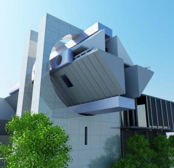 La casa en el aire de Agustín Hernández