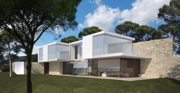 Verdadera casa estilo mediterráneo