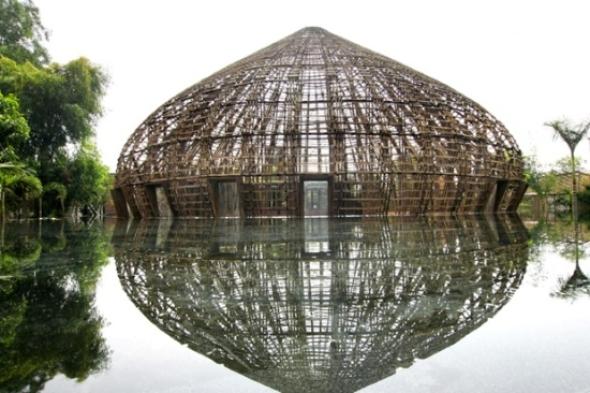 Vivienda de bambú