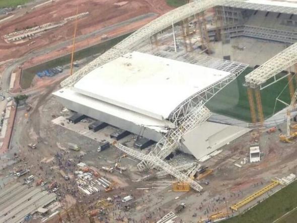 La Arena Corinthians estará a mediados de abril