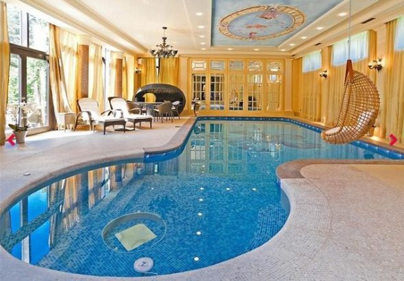 Baño ruso: 20 exorbitantes piscinas cubiertas en Rusia