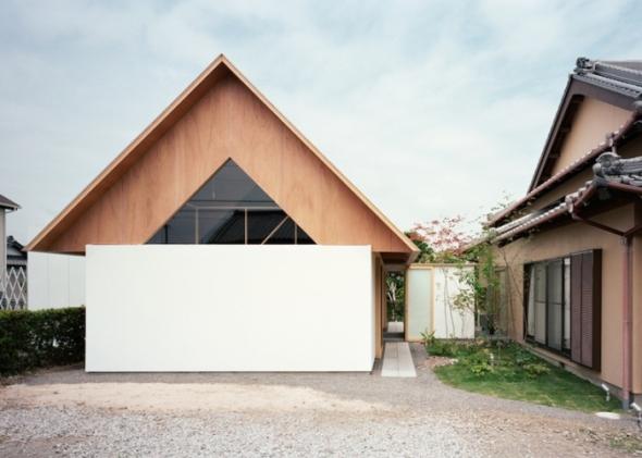 Remodelación de casa moderna en Japón