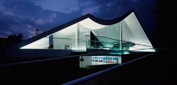 La Serpentine Gallery de Oscar Niemeyer