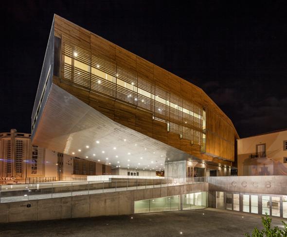 Centro cultural que flota
