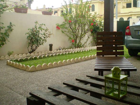 20 formas de reutilizar tarimas de madera noticias de for Muebles jardin madera palet