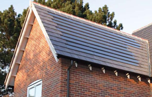 Paneles solares que no rompen con el diseño arquitectónico