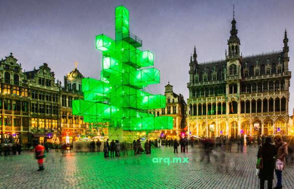 Humor en la arquitectura. Especial de Navidad y Año Nuevo