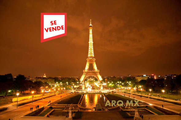 Torre Eiffel a la venta