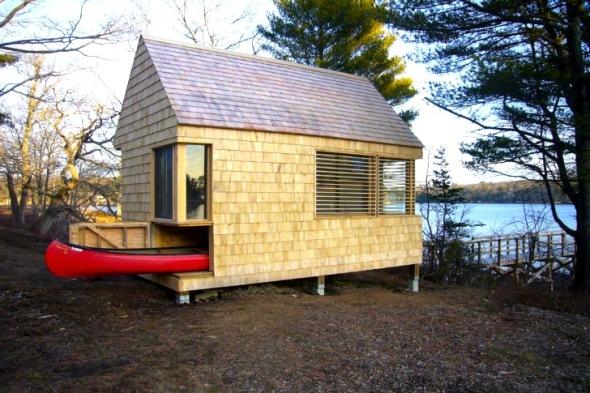 Cabaña ofrece un tranquilo refugio natural