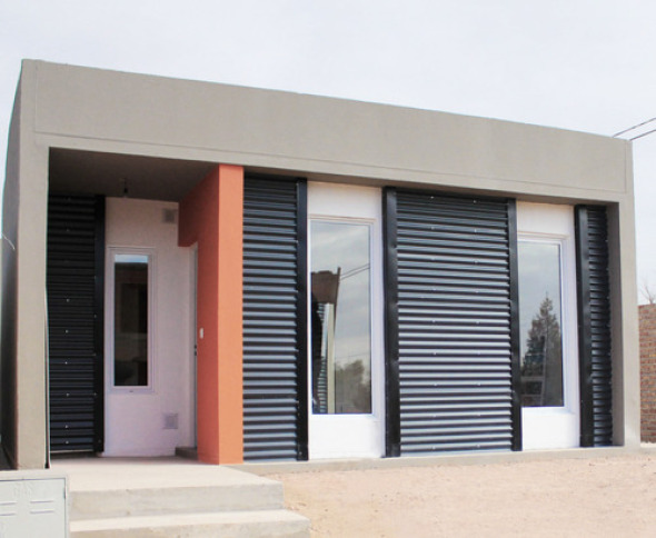 Casa prefabricada en Argentina