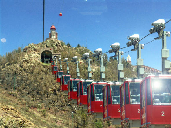 Teleférico listo para el 2015