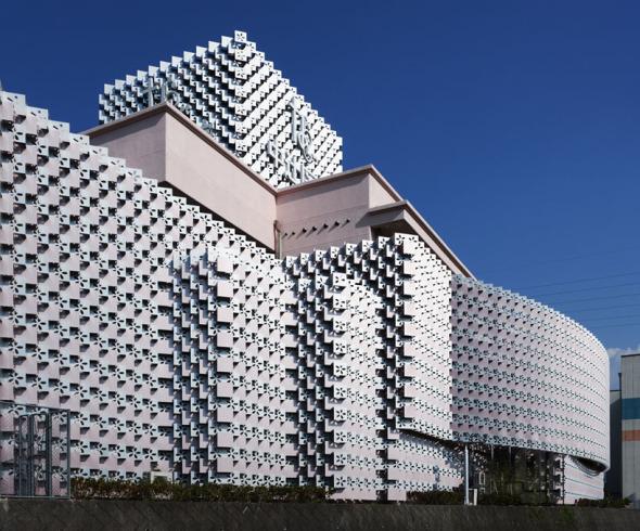 Edificio de celosías