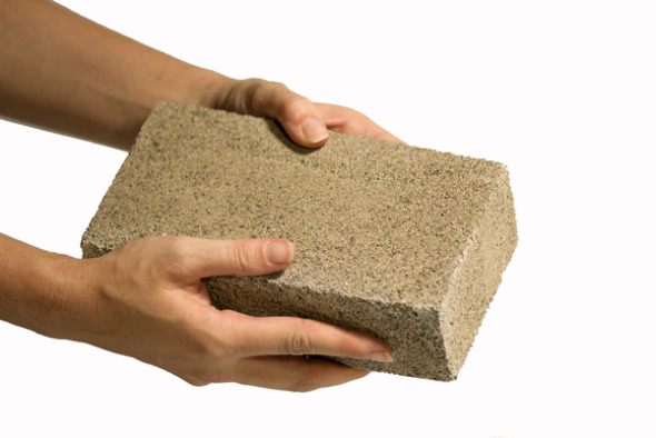 Cemento hecho de bacterias