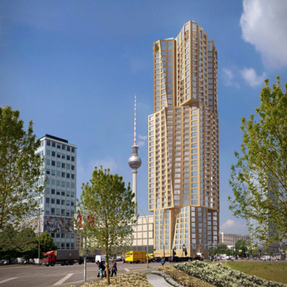 Frank Gehry Diseña el Rascacielos Más Alto de Berlín