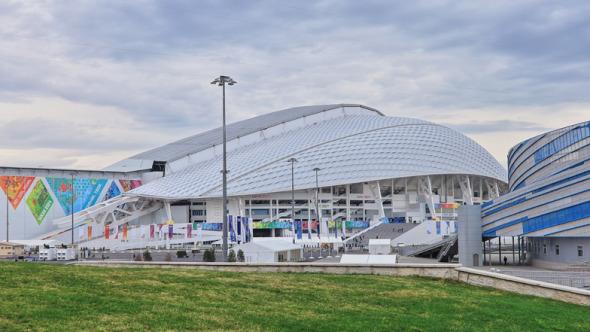 El estadio de los Juegos Olímpicos Sochi 2014