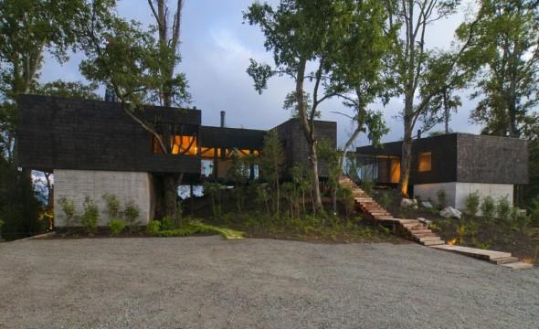 Casa en el volcán