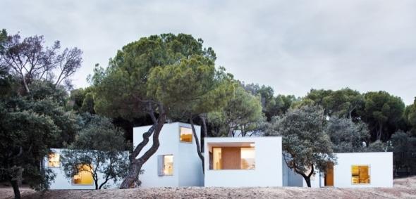 Complejidad arquitectónica con elementos simples