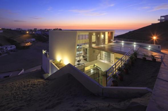 Casa en la arena