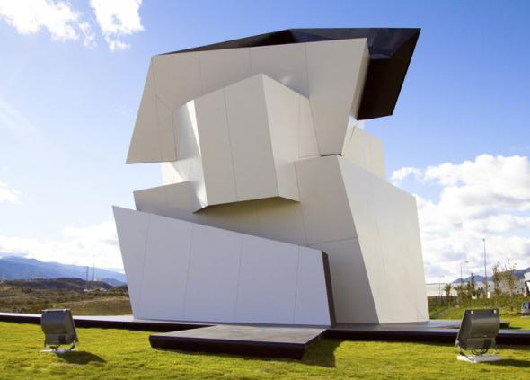 Libeskind diseña extravagante escultura para la sede Cosentino Group