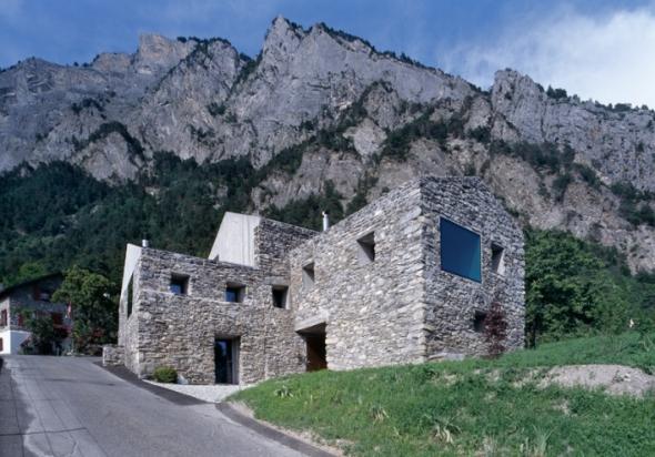 Remodelación de granero de piedra