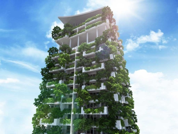 El jardín vertical más alto del mundo será construido en Sri Lanka