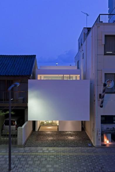 Casa moderna y minimalista