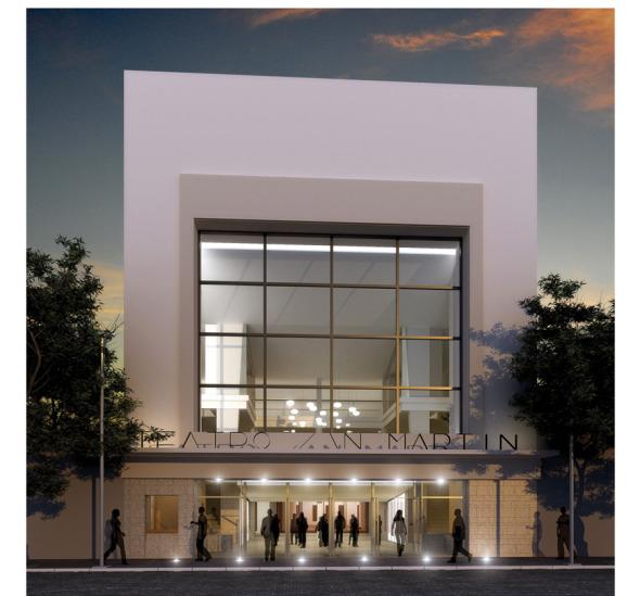 Teatro san martin buscador de arquitectura for Buscador de arquitectura