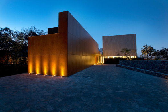 Casa Inspirada en el Entorno