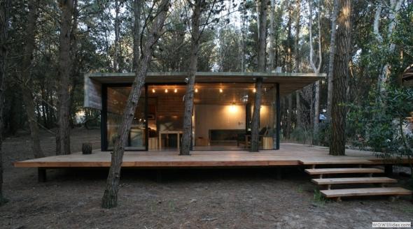 Casa de cristal en el bosque - Noticias de Arquitectura - Buscador de ...