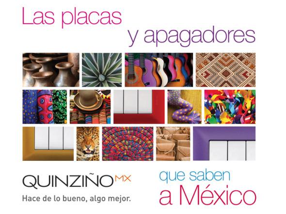 Las placas y apagadores que saben a México