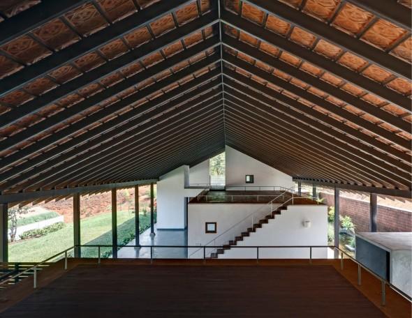 Centro de meditación en la India