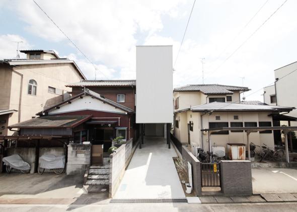 Casa de tres metros de ancho