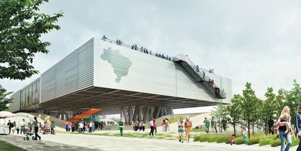 El pabellón que Brasil diseñó para la Expo Milán
