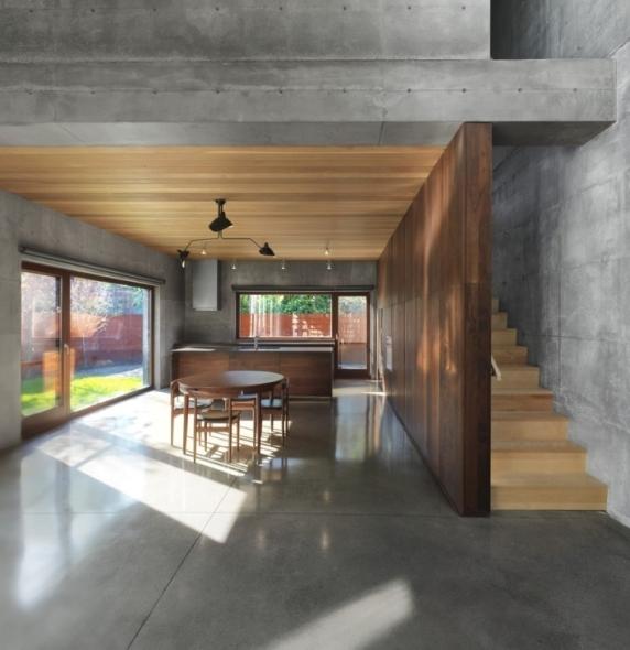Kitchen Lighting Montreal: Casa De Concreto Para Los 5 Sentidos
