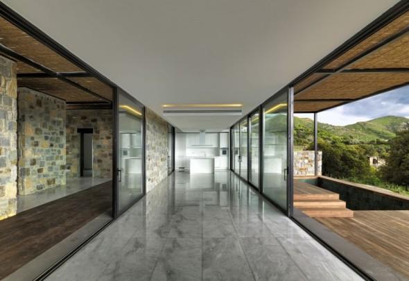 Casa residencial familiar aislamiento termico de paredes interiores dobles - Aislamiento paredes exteriores ...