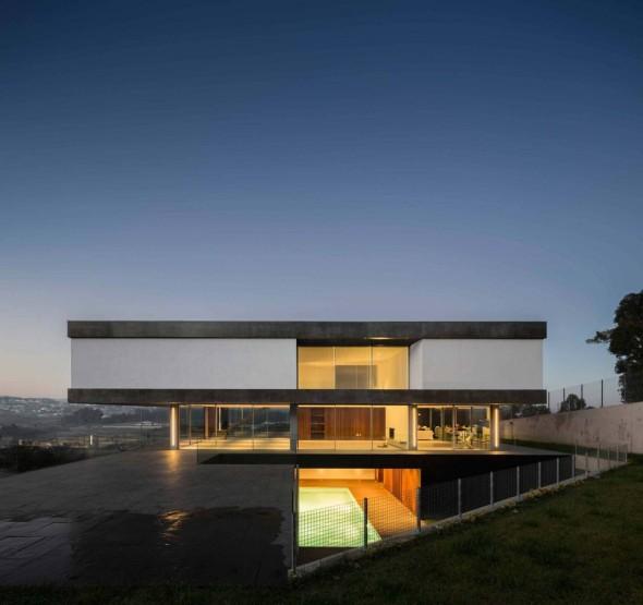 La casa por capas