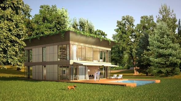 Iiarquitectos casas ecol gicas prefabricadas - Casa ecologicas prefabricadas ...