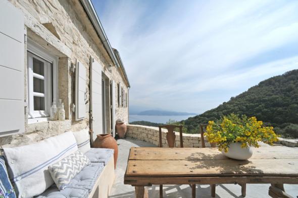 Vista panorámica griega