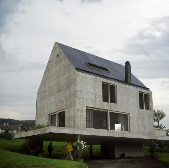 La casa que todo niño diseña. Casa Rudin de Herzog and de Meuron.