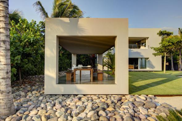 Casa lujosa de playa en Nayarit